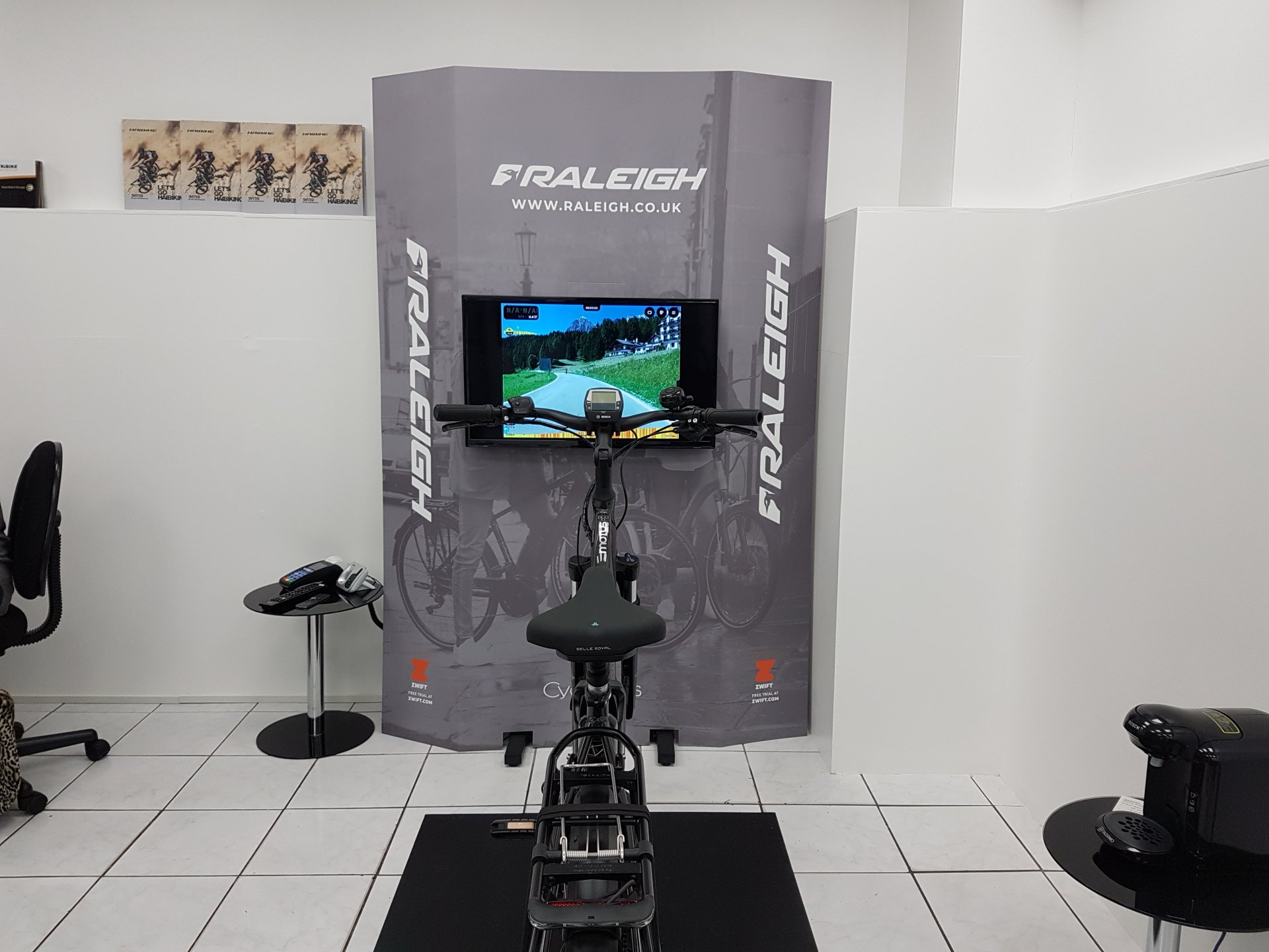 Raleigh bike simulation